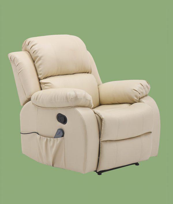 Sillón relax con función masaje DEMONDE